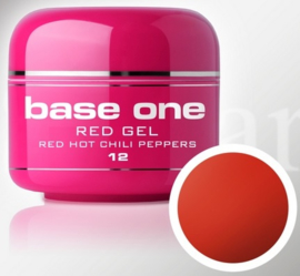 Base One - UV RED GEL - 12. Red Hot Chili Peppers