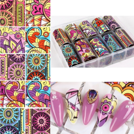 Nailways - Transfer Nail Foil - Collection 3
