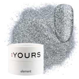 : Yours - Element - Eco Glitter -Silver Shine