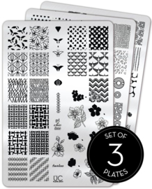 UberChic Beauty - Nail Art Stamping Plates – Collection 28