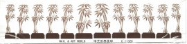 Whole Nail Waterdecal - Bamboe
