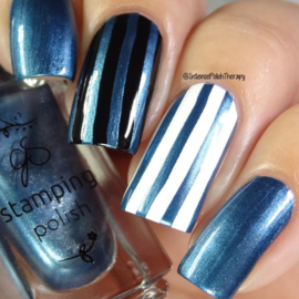 Clear Jelly Stamper Polish - #36 Midnight Rendezvous