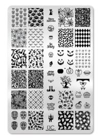 UberChic - Big Nail Stamping Plate - Halloween - 02