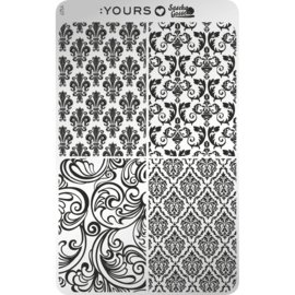 Yours Cosmetics - Stamping Plates - :YOURS Loves Sascha - YLS27. Is The Bar Okay
