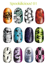 Lina - Stamping Plate - Spooklicious - 01