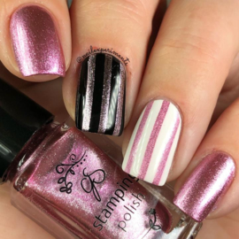 Clear Jelly Stamper Polish -  #110 Sugarplum