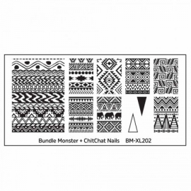 Bundle Monster - Blogger Collaboration - BM-XL202, ChitChat Nails