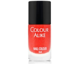 Colour Alike -  Nail Polish - Neon goes Holo - 614. Red-y or not