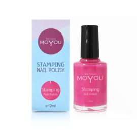 Moyou Nail Fashion - Stamping Polish - 19. Pink