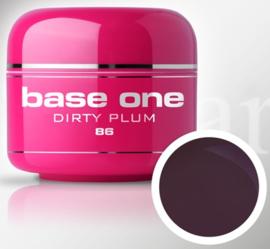 Base One - UV MARSALA GEL - 86. Dirty Plum