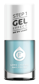 CF Gel Effekt Nagellak - Step 1 - 407. Pastel Blue