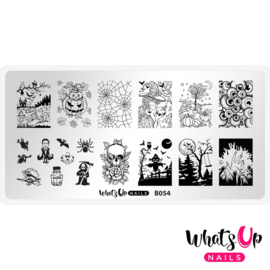 Whats Up Nails - Stamping Plate - B054 Haul 'R Win