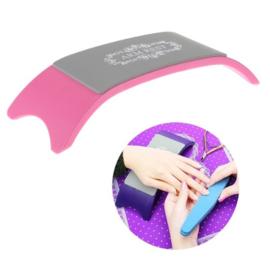 Arm & Hand Steun - Silconen Roze
