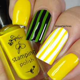 Clear Jelly Stamper Polish - #8 You are my Sunshine