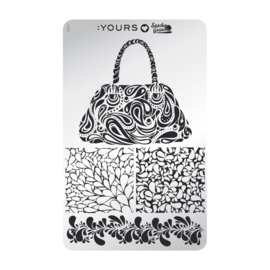 Yours Cosmetics - Stamping Plates - :YOURS Loves Sascha - YLS08. Hold my Purse