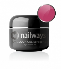 Nailways - NWUVC3 - UV COLOR GEL - Sunset Red