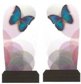 Whole Nail Waterdecal - Butterfly Fly!