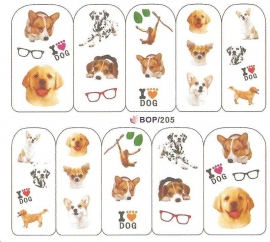 Waterdecals - Dogs