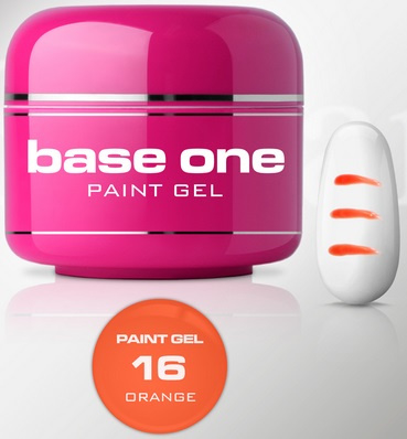 UV PAINT GEL - 16. Orange