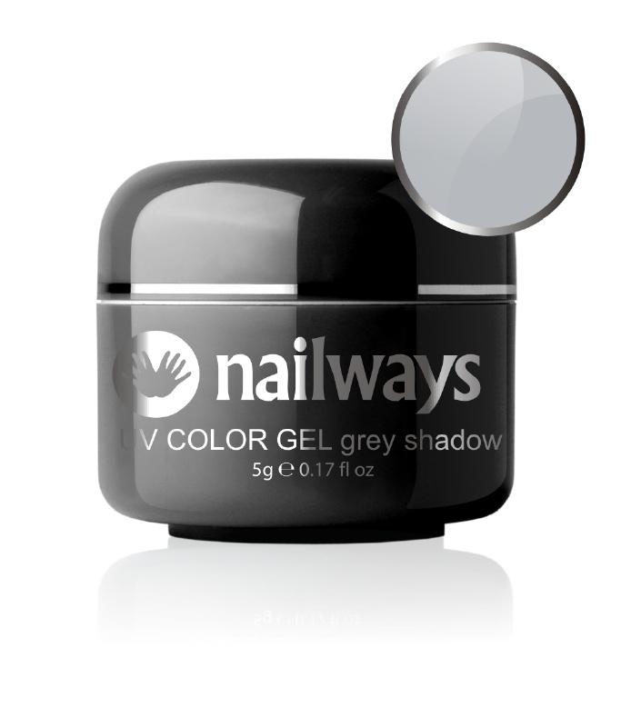 Nailways - NWUVC16 - UV COLOR GEL - Grey Shadow