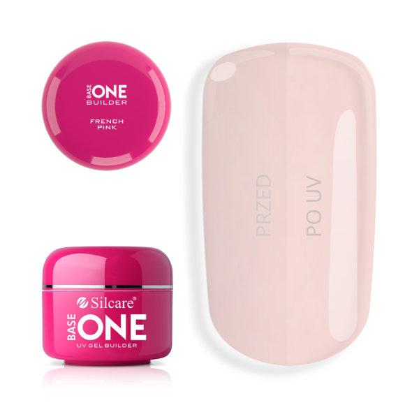 Silcare - Base One - UV GEL Builder - French Pink (100gr)