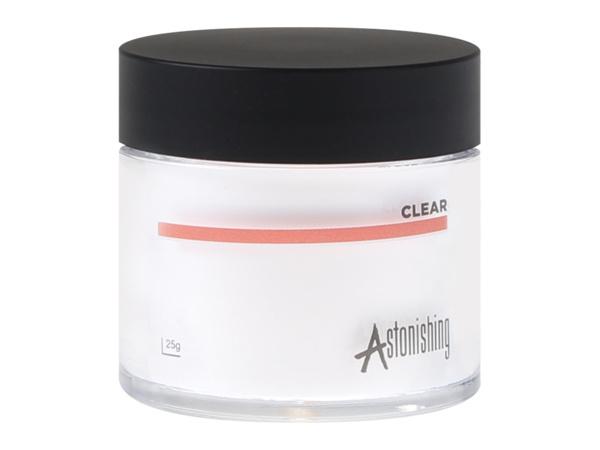 Astonishing - Acrylic Powders - Clear (25 gr)