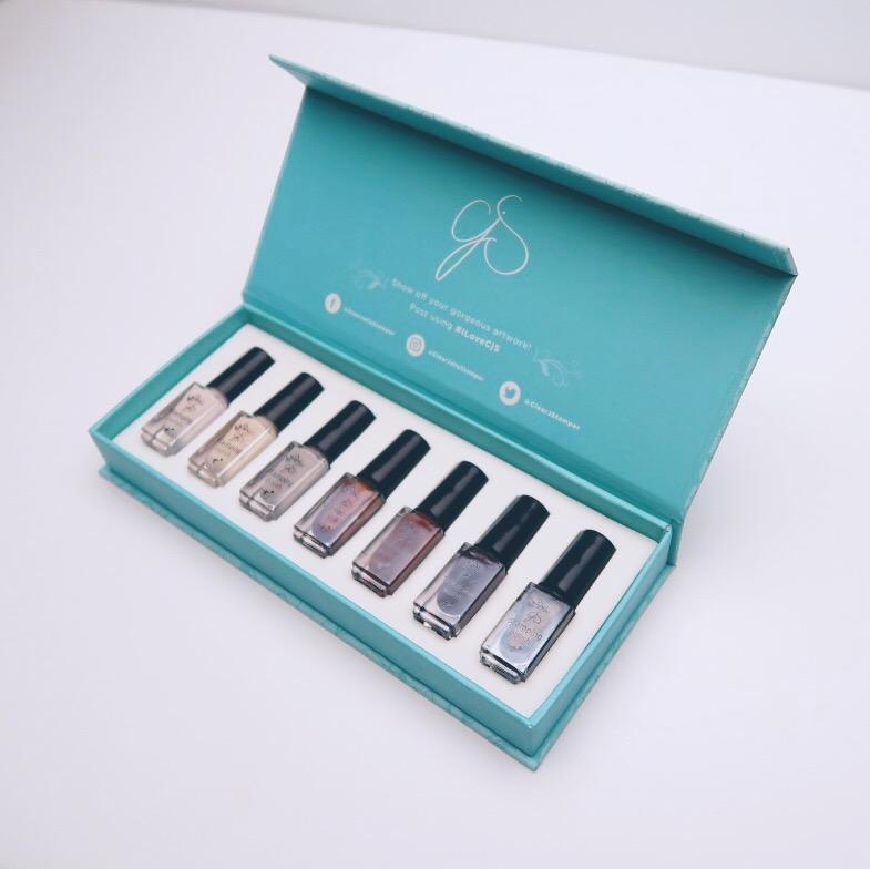 Clear Jelly Stamper - Stamping Polish Kit - Java (7 Colours)
