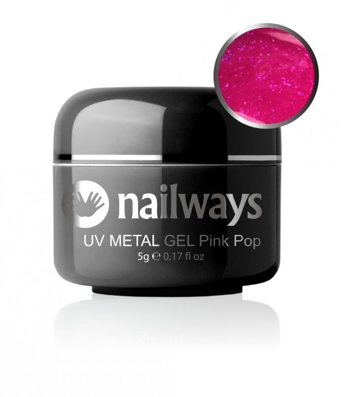 UV METALLIC GEL - Pink Pop
