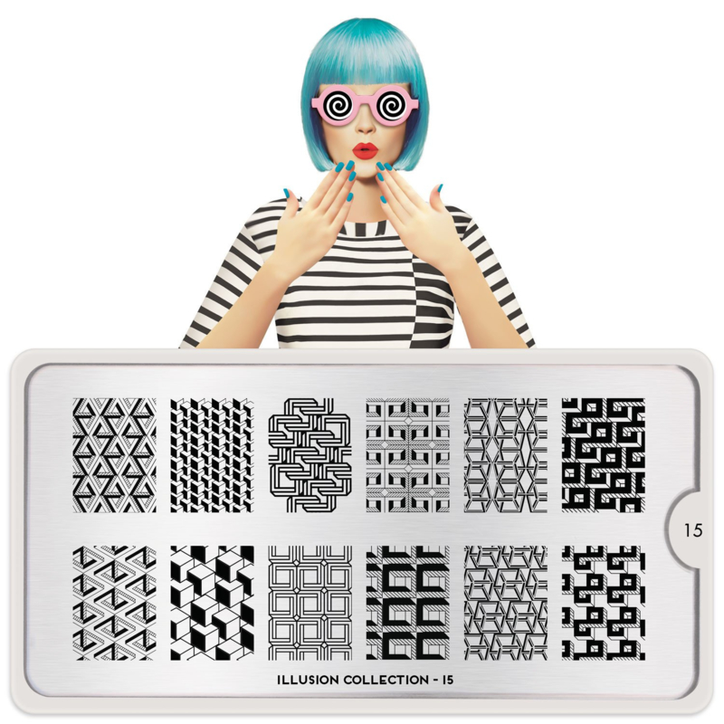 MoYou London - Stamping Plate - Illusion 15