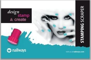 Nailways Stamping Scraper - 5 stuks