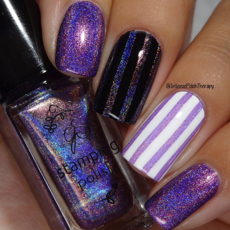 Clear Jelly Stamper Polish - Holo 07