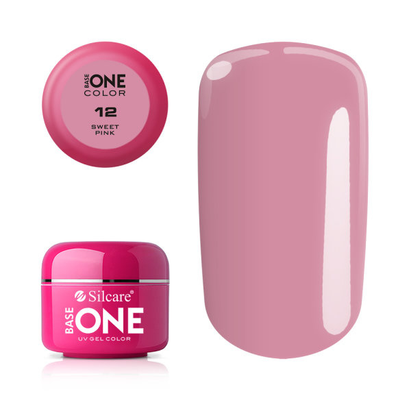 Base One - UV COLOR GEL - 12. Sweet Pink
