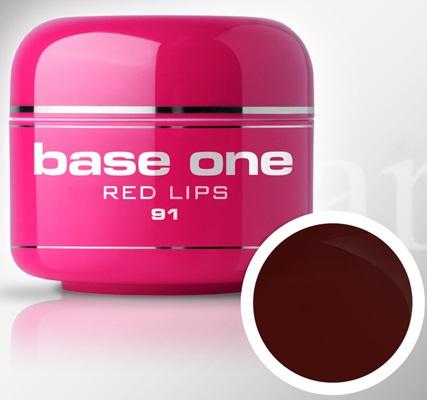 Base One - UV MARSALA GEL - 91. Red Lips