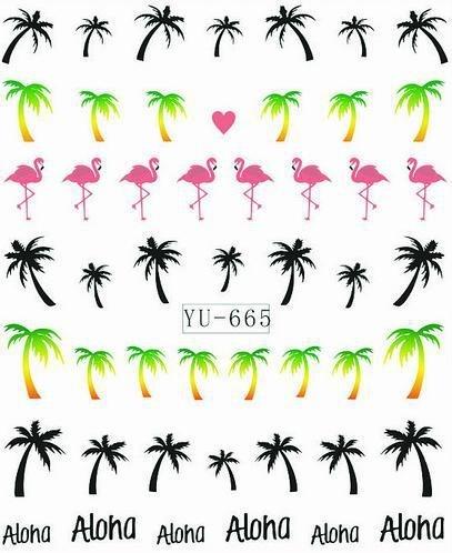 Waterdecals - Aloha