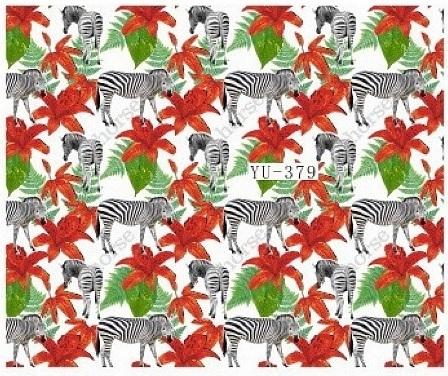 Waterdecals - Zebra