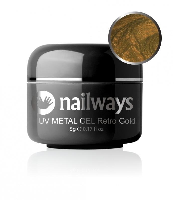 UV METALLIC GEL - Retro Gold