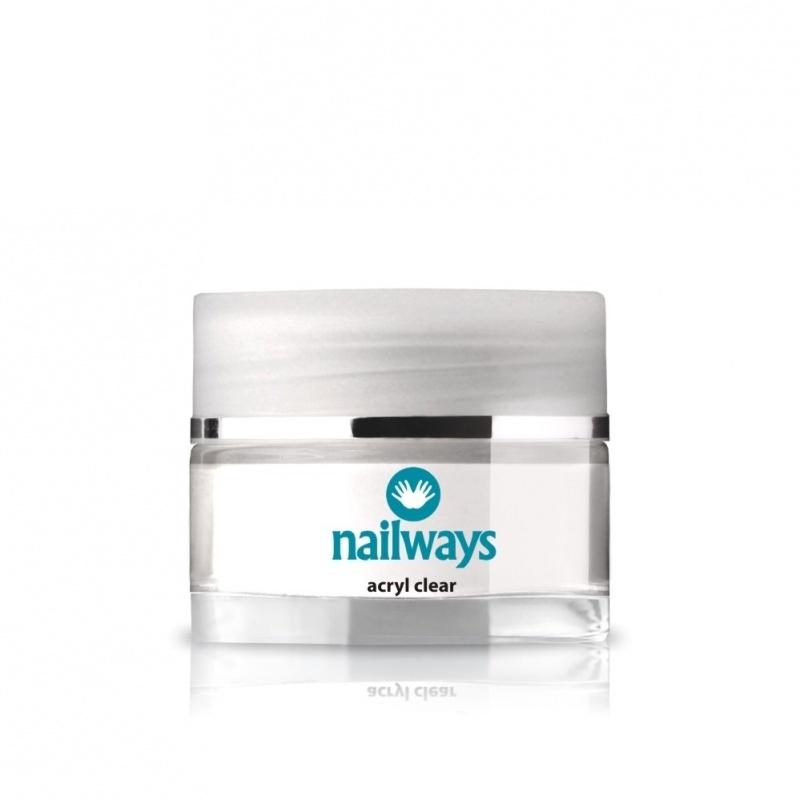 Nailways Acryl - Clear - 36 gram