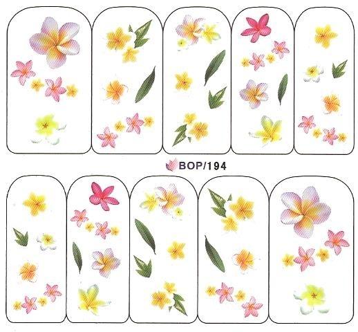 Waterdecals - Lush Bouquet