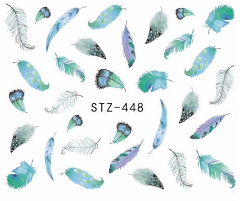 Waterdecals - Winter Feathers