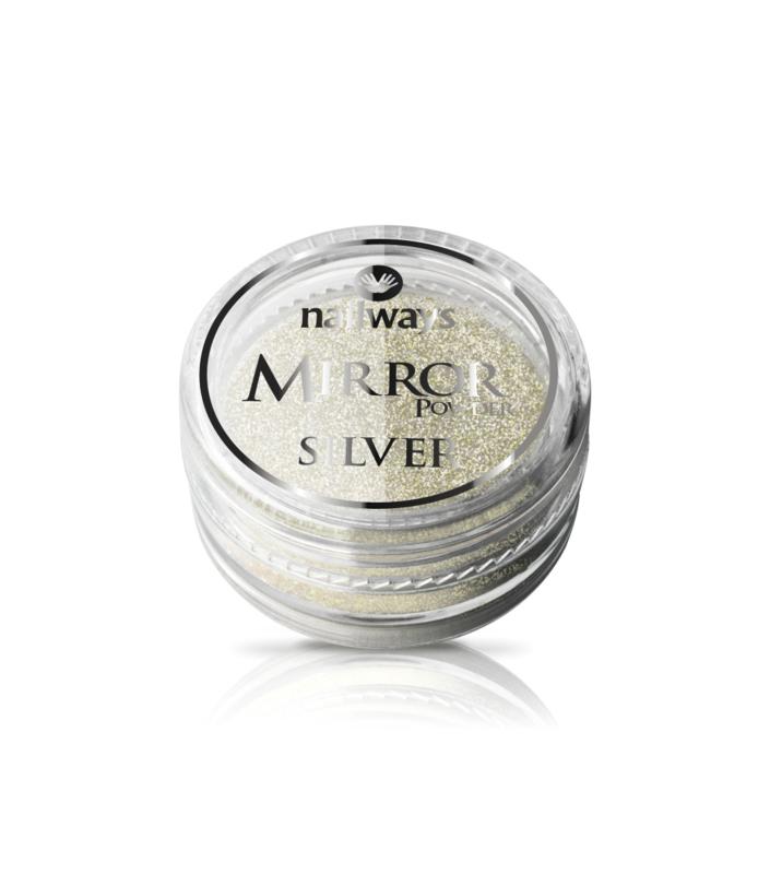 Nailways - Mirror Powder - Silver
