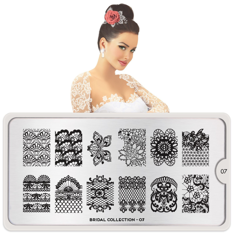 MoYou London - Stamping Plate - Bridal 07