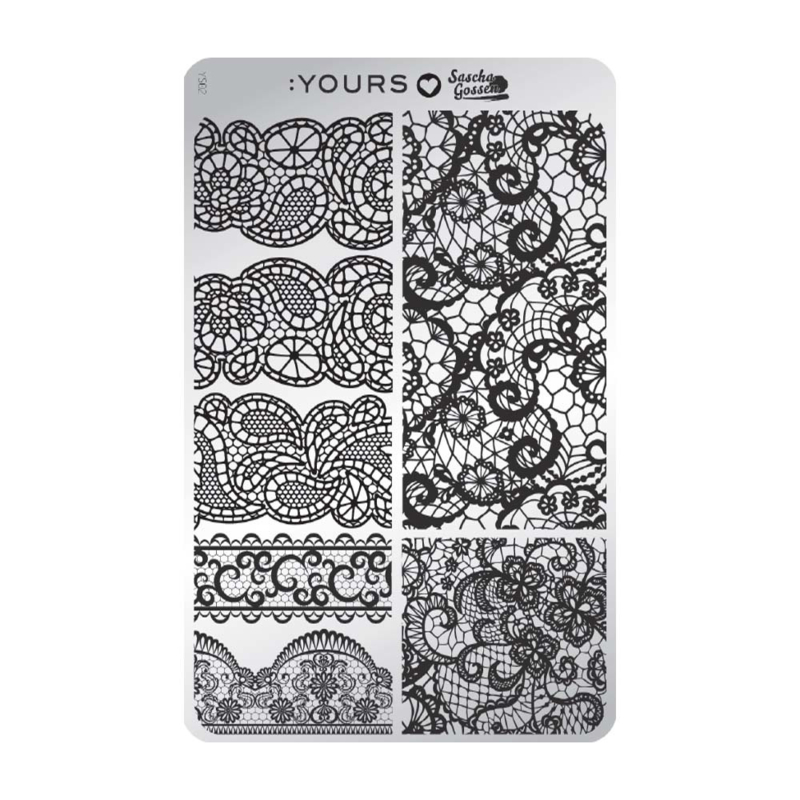 Yours Cosmetics - Stamping Plates - :YOURS Loves Sascha - YLS02. Mixture Me