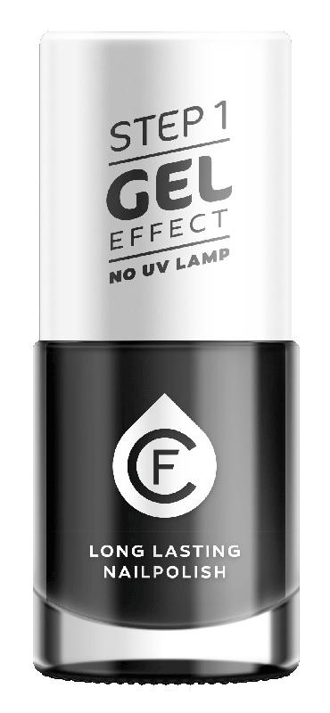 CF Gel Effekt Nagellak - Step 1 - 609. Black