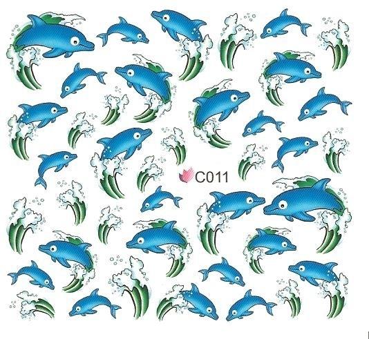 Waterdecals - Dolphins