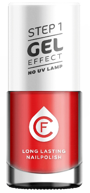 CF Gel Effekt Nagellak - Step 1 - 231. Garishly Hot Pink