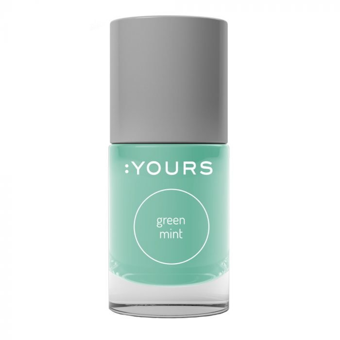 Yours Cosmetics - Stamping Polish - 19. Green Mint