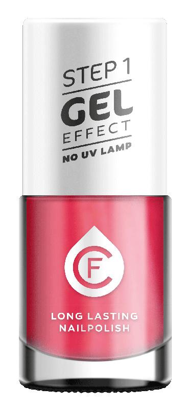 CF Gel Effekt Nagellak - Step 1 - 307. Pink