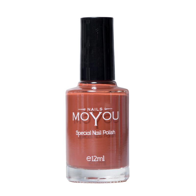 Moyou Nail Fashion - Stamping Polish - 38. Chocolate Spice