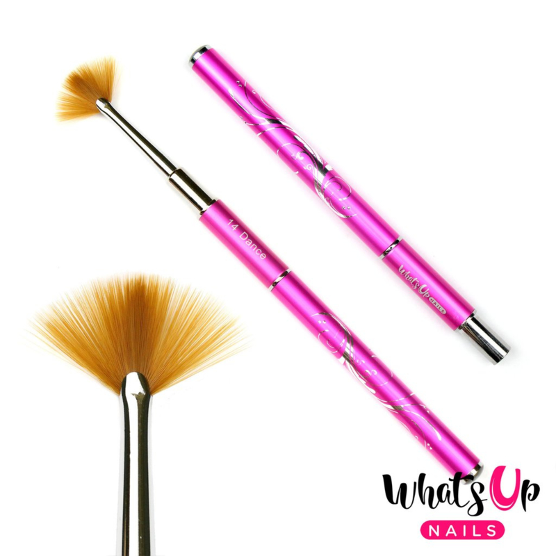 Whats Up Nails - Dance #14 Fan Brush