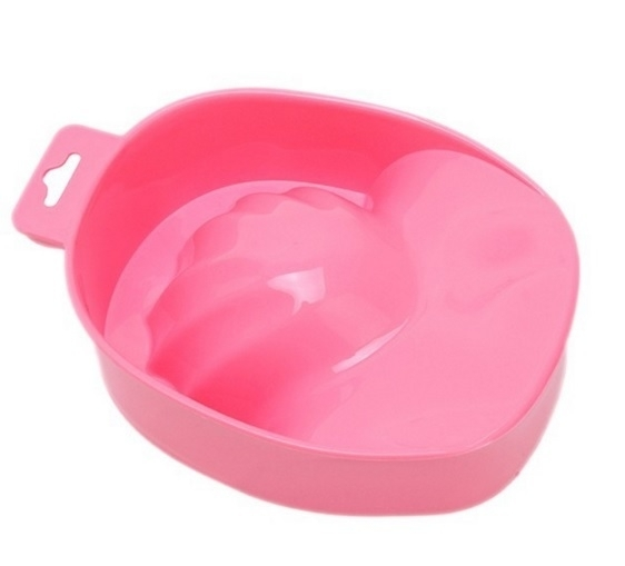 Manicure Bowl - Neon Pink